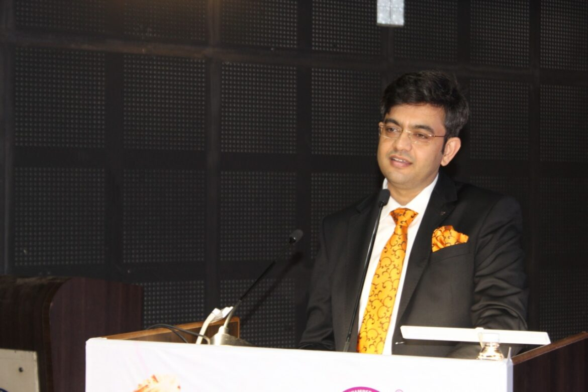 Inspirational talk by Sonu Sharma on account of National Youth Day- Initiative by SGCCI