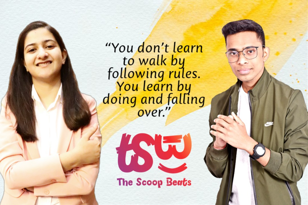 Social Entrepreneurship is Being Revived in the form of 'Scoop Beats Private  Limited' by Young Entrepreneurs Akhilendra  and Divya