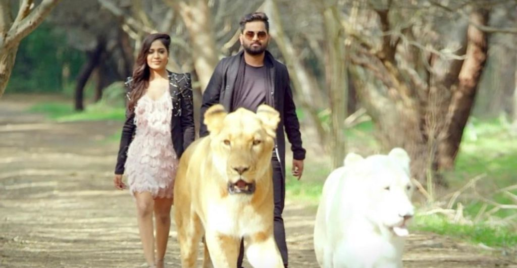 """The wait is over, Krishna Singh Thakur launched his most awaited song, """"Super Star Peg""""."""
