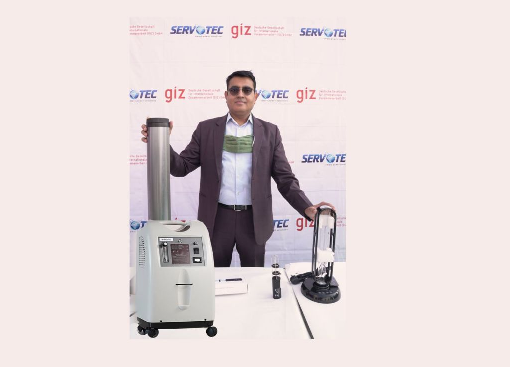 Servotech's #O2FORALL Initiative Bringing Oxygen Concentrators and UVC Disinfectant Products Closer to the Masses