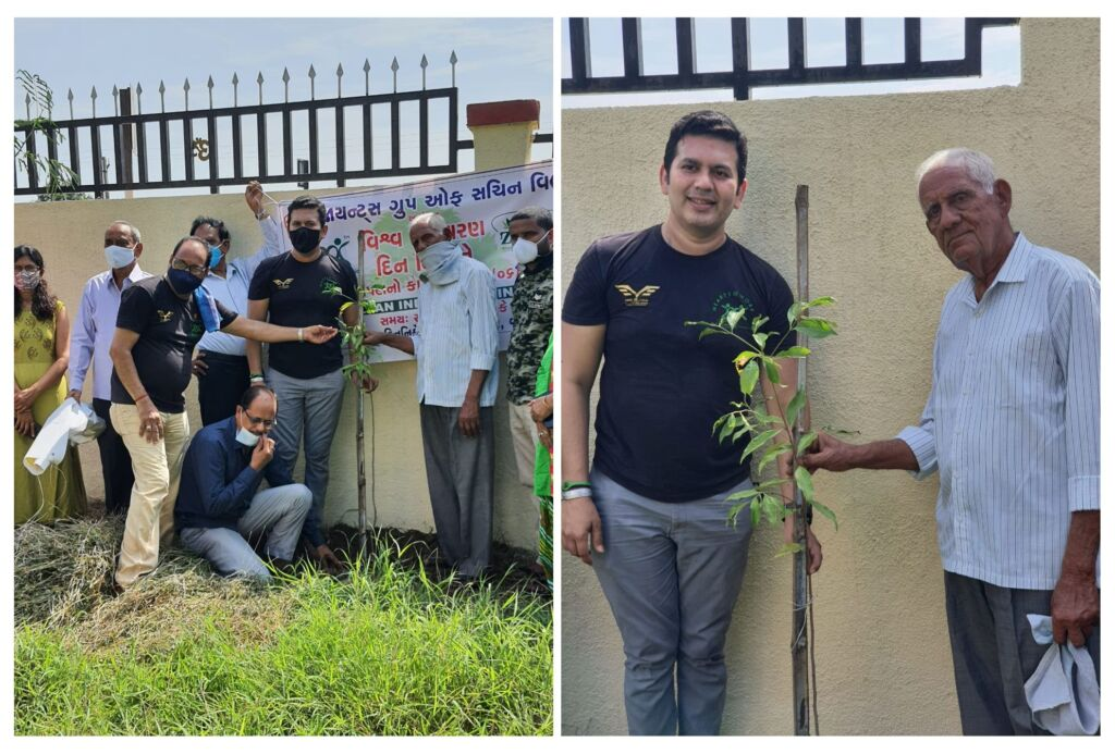 On this World Environment Day, Viral Desai plants 4,000 trees under 'Satyagraha against Pollution'