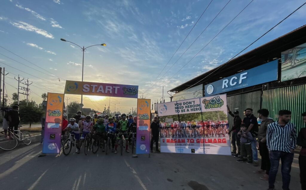 Cycle Strike-Event concluded in the presence of Deputy Commissioner of Gulmarg