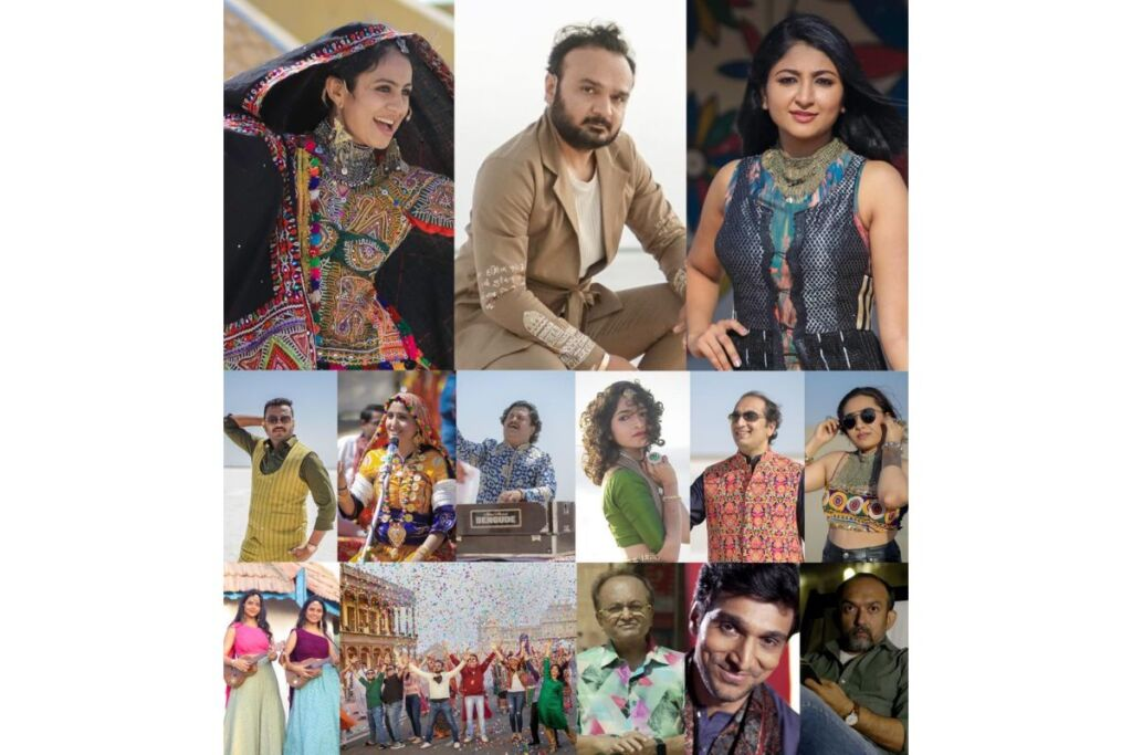 Gujarati Jalso shot in the white desert of Kutch with the assistance of prominent artists