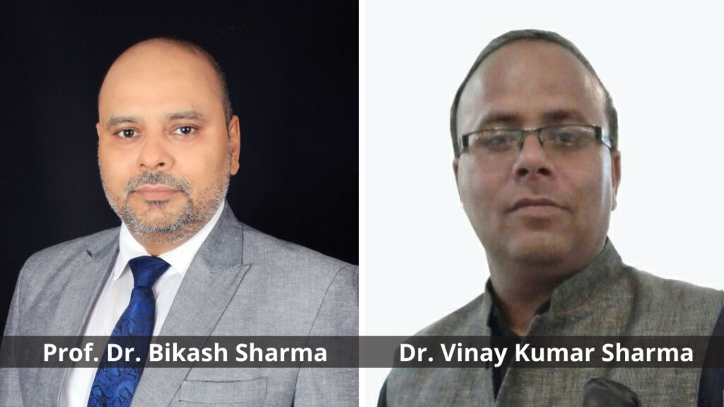 Prof. Dr. Bikash Sharma and Dr. Vinay Kumar Sharma were bestowed with Honorary Doctorate by FABIC, Brazil