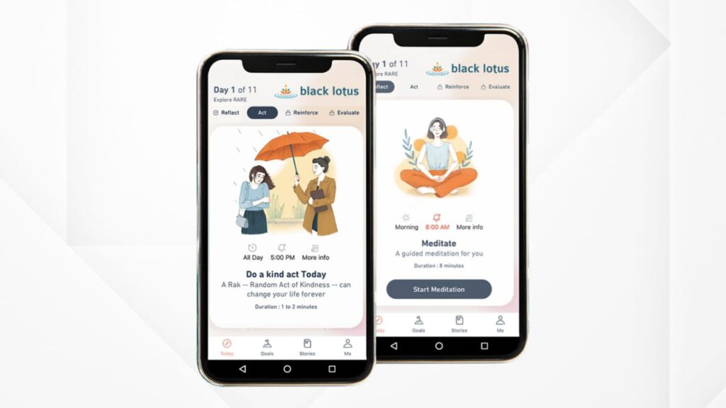 Take Control of your Mental & Emotional State with the Black Lotus Meditation App