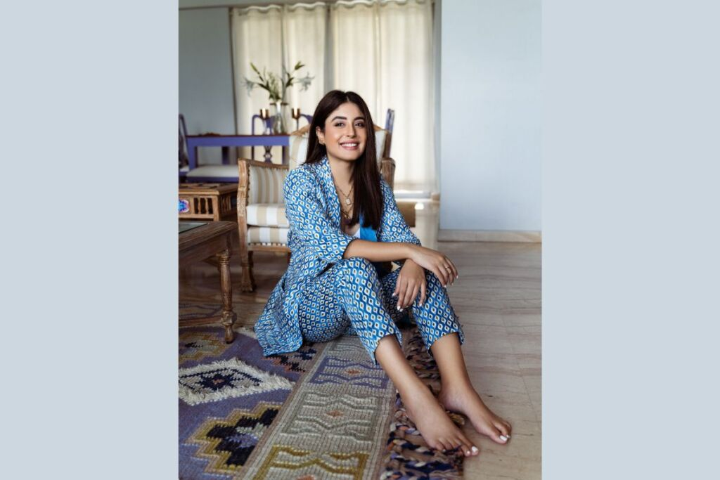 Kritika Kamra Sports This Chic Pantsuit from the Fusion Collection by Marks & Spencer